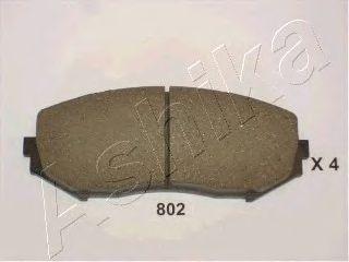 Колодки тормозные SUZUKI (СУЗУКИ) GRAND VITARA (пр-во Ashika) фото, цена