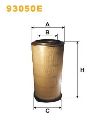 Фильтр воздушный (пр-во WIX-Filtron) 93050E/442/2 фото, цена