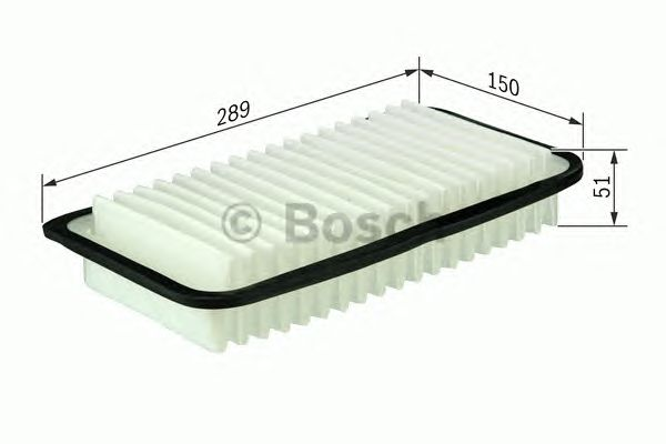 Воздушный фильтр (пр-во Bosch) фото, цена