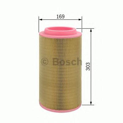 Фильтр воздушный (пр-во Bosch) фото, цена