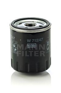 Фильтр масляный RENAULT (РЕНО) (пр-во MANN) фото, цена