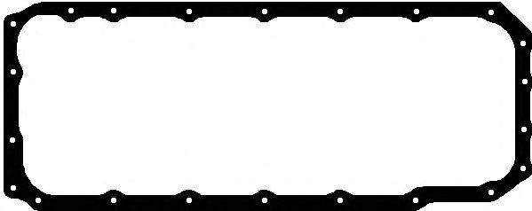 Прокладка поддона картера MAN (Ман) D2066 (поддон алюминий) (пр-во Elring) фото, цена