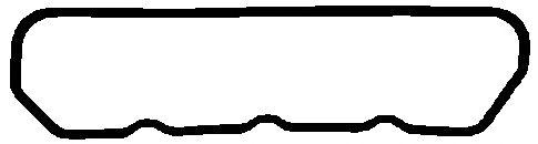 Прокладка клапанной крышки PEUGEOT/FORD (ФОРД) XD2/XD3 (пр-во Elring) фото, цена