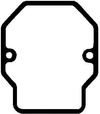 Прокладка клапанной крышки MAN (Ман) D2866 4V/2876 4V (5) (пр-во Elring) фото, цена