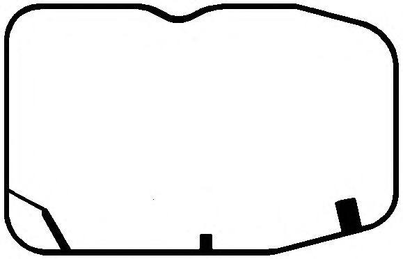 Прокладка клапанной крышки SCANIA (СКАНИЯ) DC11/DC12 (1 CYL) (пр-во Elring) фото, цена