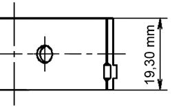 Вкладыши шатунные OPEL (ОПЕЛЬ) 0,50 1.6/1.6D/1.7D/1.8/2,0 85- (пр-во KS) фото, цена