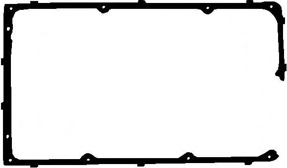 Прокладка клапанной крышки FORD (ФОРД) 1.3/1.6/2.0 OHC ->83 (пр-во Elring) фото, цена