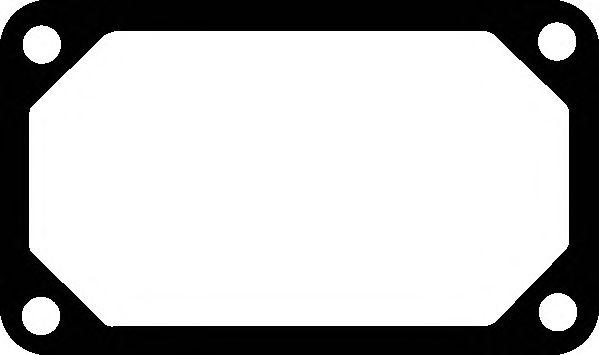 Прокладка коллектора IN VOLVO (ВОЛЬВО) TD 61/63E/ES (пр-во Elring) фото, цена