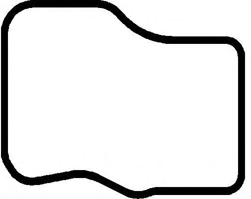 Прокладка поддона картера верхняя MAN (Ман) D0824 (пр-во Elring) фото, цена