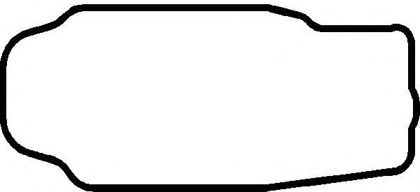 Прокладка поддона картера MAN (Ман) D2866 RUBBER (пр-во Elring) фото, цена