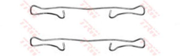 Колодок тормозных комплект монтажный FORD (ФОРД), MB, OPEL (ОПЕЛЬ) передний (пр-во TRW) фото, цена