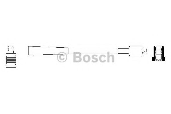 Провод высоковольтный (пр-во Bosch) фото, цена